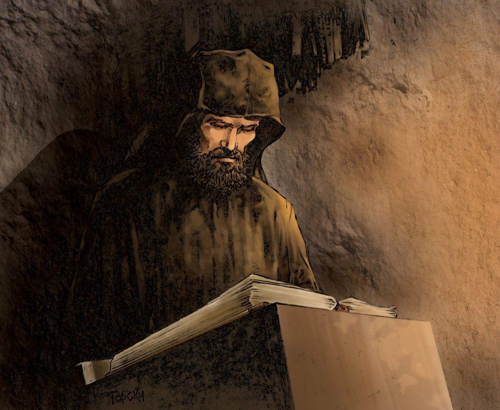 Монах Данило и одбрана Хиландара