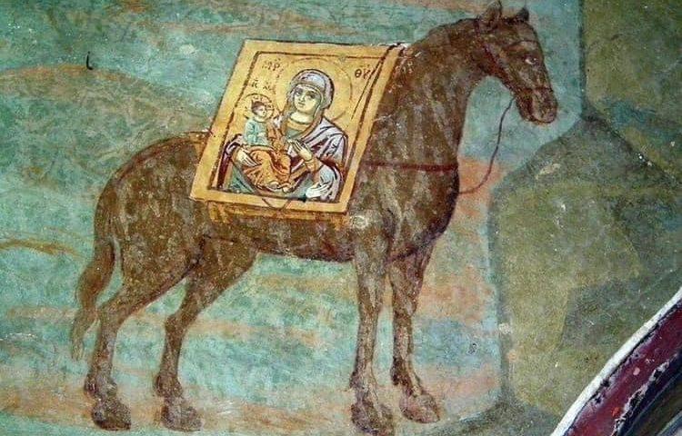 Čudesna priča o ikoni Svete Bogorodice Trojeručice