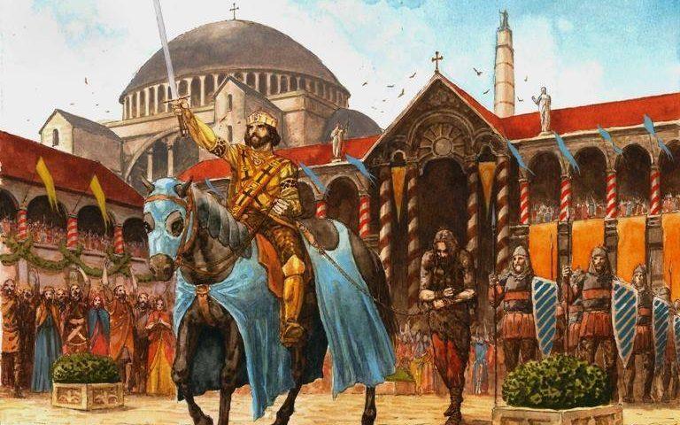 Стефан Немања у Цариграду